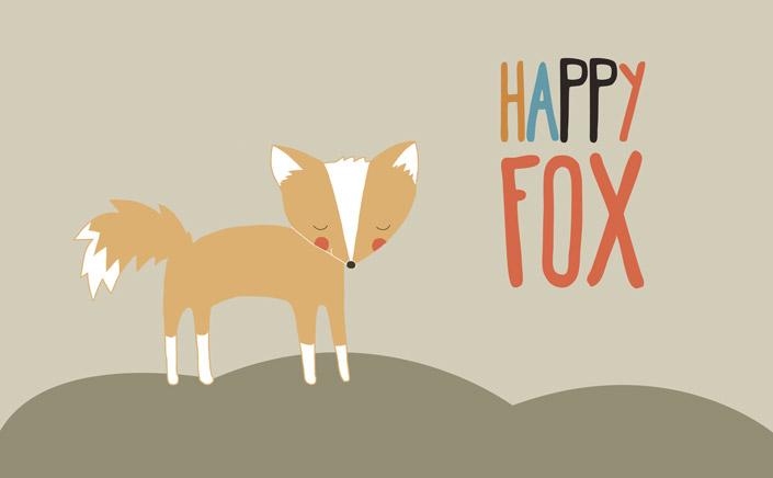 Papierdirekt.de Free Font Freitag LHappy Fox Condensed von Laura Caldentey