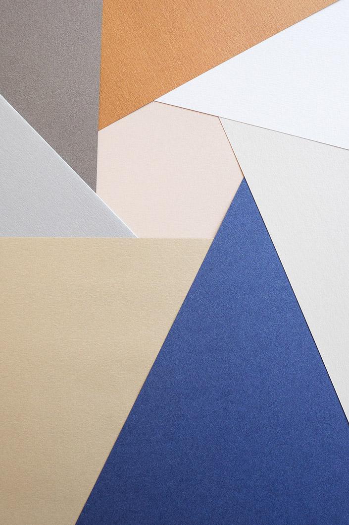 Papier Direkt Blog blog.papierdirekt.de /// Metallics gebürstet /// Farbübersicht