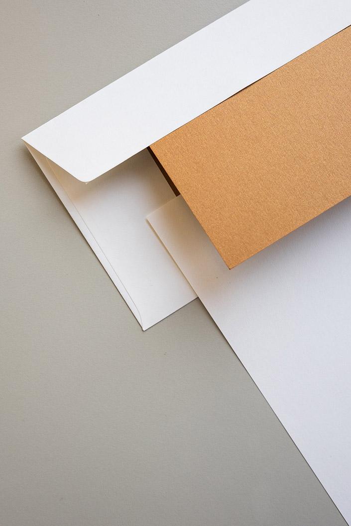 Papier Direkt Blog blog.papierdirekt.de /// Metallics gebürstet /// kombiniert mit Hatari Hochweiß