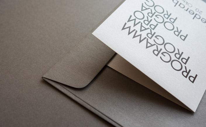 Papier Direkt Blog blog.papierdirekt.de /// Metallics gebürstet /// Shadow kombiniert mit Antimon