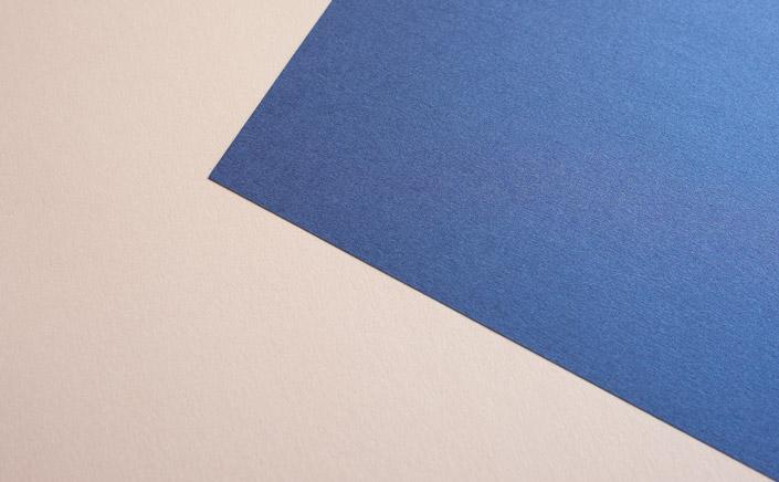 Papier Direkt Blog blog.papierdirekt.de /// Metallics gebürstet /// Nude kombiniert mit Blueprint