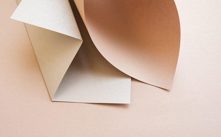 Papier Direkt Blog blog.papierdirekt.de /// Metallics gebürstet /// Nude kombiniert mit Antimon