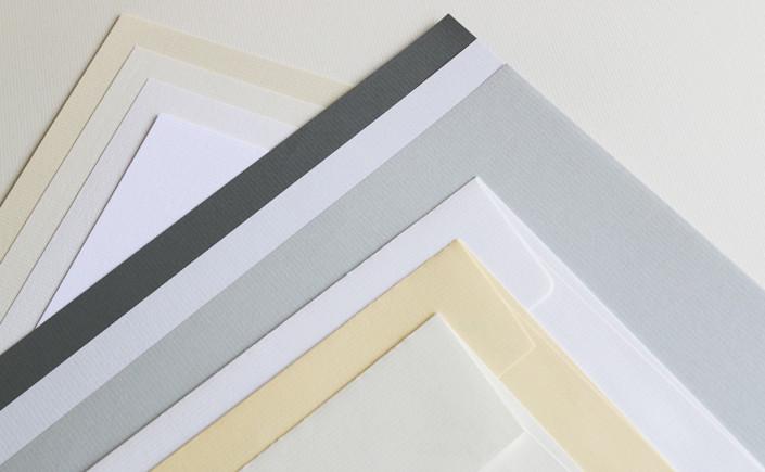 Heute stellen wir die Papiersorte Conqueror gerippt vor und zeigen Ihnen wie facettenreich dieses Papier ist