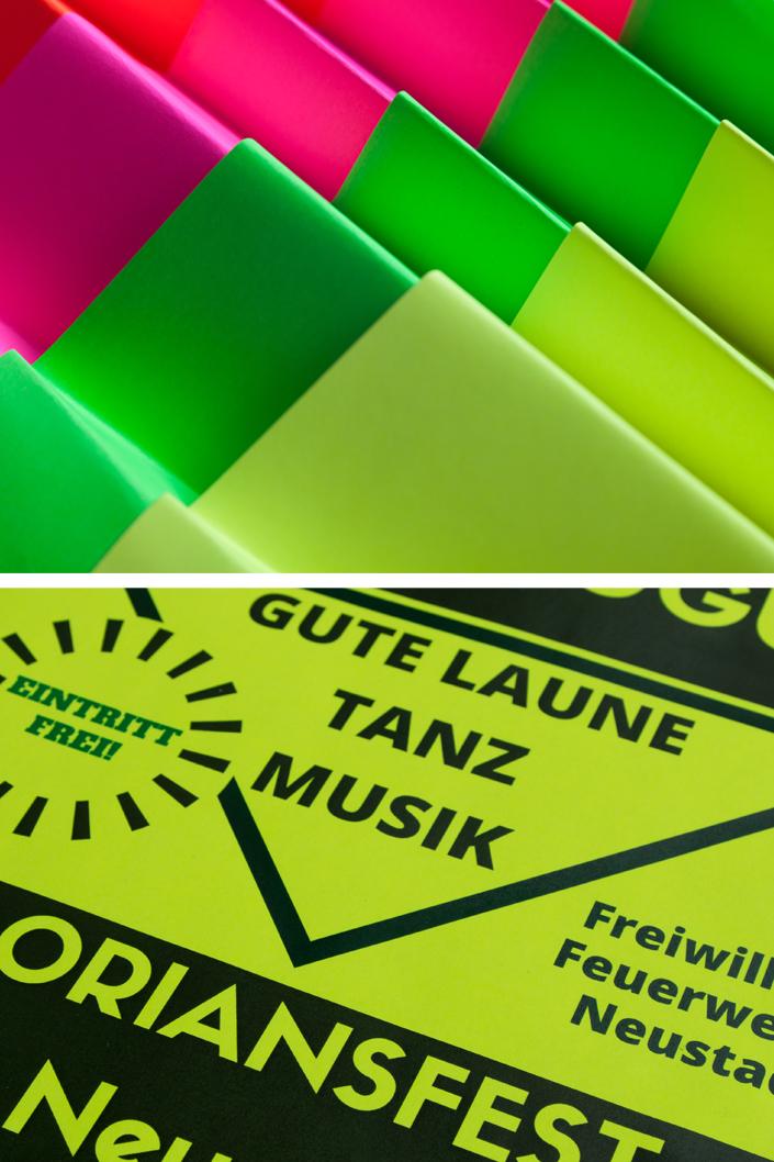 Ultra Neon - Plakatpapier für die Aussenanwendung