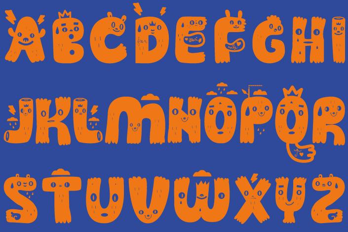 Bühne frei für Guakala. Dieses sympathische Monster von einer Schrift ist unser Freefont an diesem #FreeFontFreitag im April. Guakala macht uns Spaß und zeigt die Freude am Umgang mit Typografie. Jetzt im Blog! blog.papierdirekt.de