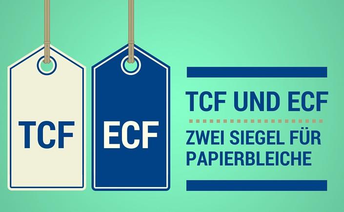 TCF und ECF sind zwei Verfahren, die die Zellstoffbleiche mit Chlorgas abgelöst haben. Lesen Sie auf blog.papierdirekt.de mehr über die beiden Methoden.
