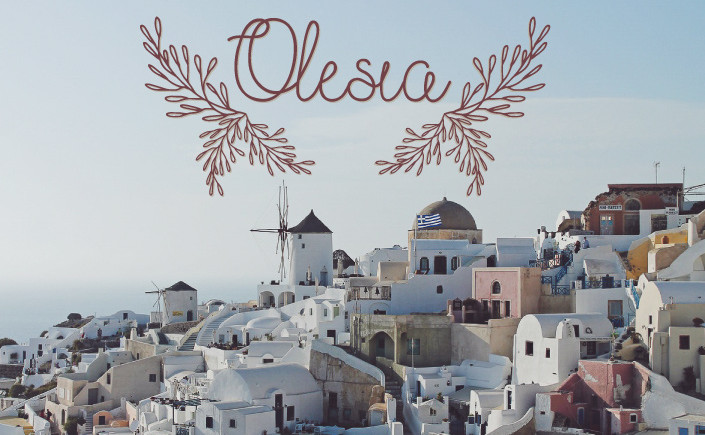 Eine Schrift, wie ein Sommerurlaub! Am #FreeFontFreitag stellen wir heute auf blog.papierdirekt.de die Schreibschrift Olesia von Julia Dreams vor.