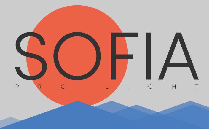 Wir stellen Ihnen in unserem Papier Blog den kostenlosen Schnitt der Fontfamilie Sofia Pro vor. Ein würdiges typografisches Zitat von Paul Renners Futura.