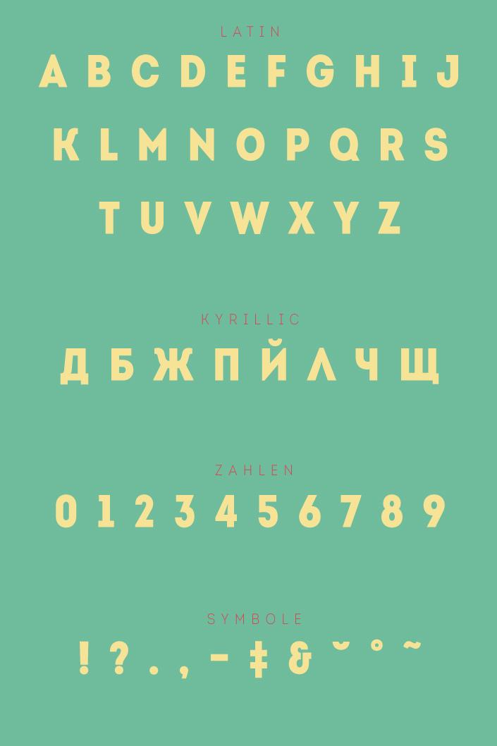 Unsere Lieblingsschrift im März ist Intro, das Eigengewächs aus der Fontfabrik von Svetoslav Simov. Wir stellen Ihnen die Schrift am #FreeFontFreitag vor.