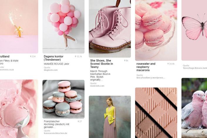 Der April jagt den Winter raus und entlockt mit rosafarbenen Blüten der Sonne ein Lächeln. Die perfekte Zeit, Rosa zu unserer Farbe des Monats zu machen.