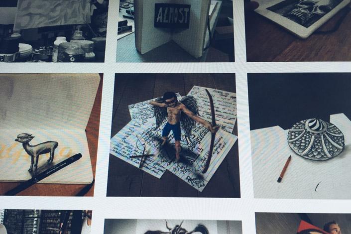umwerfend realistische 3d zeichnungen auf papier. Black Bedroom Furniture Sets. Home Design Ideas