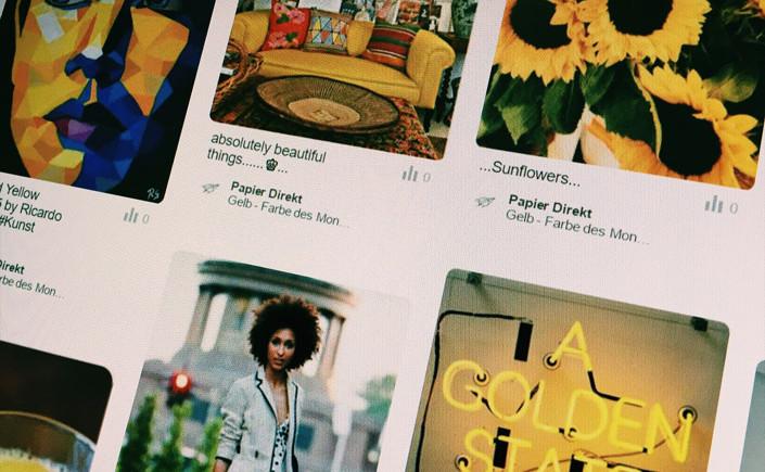 Farbe des Monats Juni: Gelb – Papier Direkt Blog