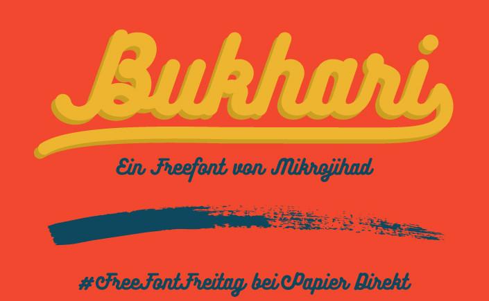Wie Düfte, Geräusche und Bilder können auch Schriften Erinnerungen wachrufen. Welche Bilder im Kopf Bukhari Script erzeugt, lesen Sie im Papier Direkt Blog.
