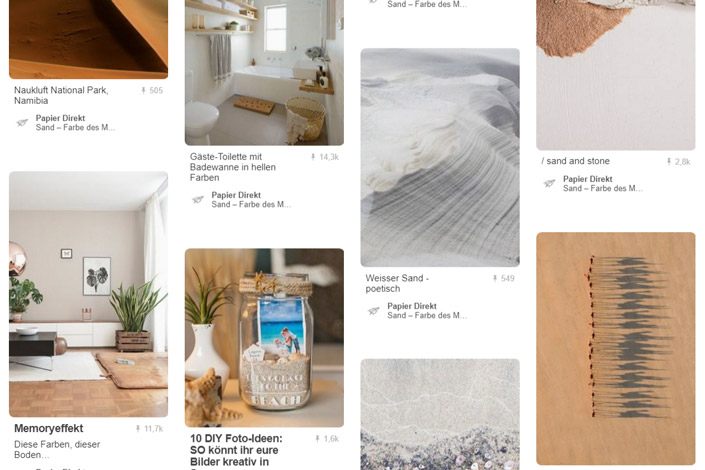 In diesem Monat werden alle Zeichen auf Herbst umgestellt. Sand ist unsere Farbe des Monats. Hier im Papier Direkt Blog präsentieren wir Ihnen die passenden Papiere dazu.