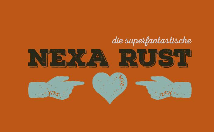Schriften gehören zum Werkzeugsatz eines jeden Gestalters. Nexa Rust, ein wahres Arbeitstier, ist unsere Lieblingsschrift am FreeFontFreitag im Oktober.