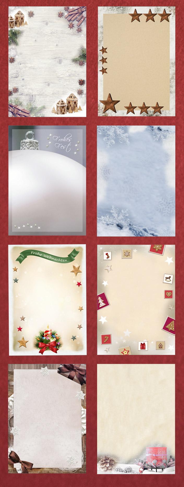 Nutzen Sie weihnachtlliche Motivpapiere, Weihnachtskarten 2017 und Colorplan Hüllen, um Ihre Ideen zur Weihnachtszeit optimal zu transportieren.