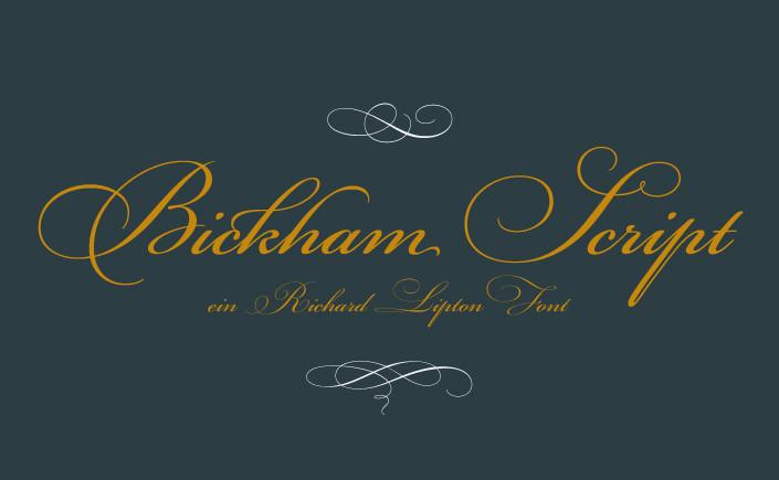 Bickham Script, bringt den Glanz der Festtage schon jetzt in Ihre Hütte. Wir stellen die Freefont-Variante des Schriftklassikers und den Autor im Papier Direkt Blog genauer vor.