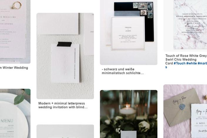 Toll, wie kreativ Hochzeitspapeterie heute ist. Wir zeigen heute in unserer Reihe 12 x Print fünf Trends der Hochzeitspapeterie und zeigen passende Papiere.