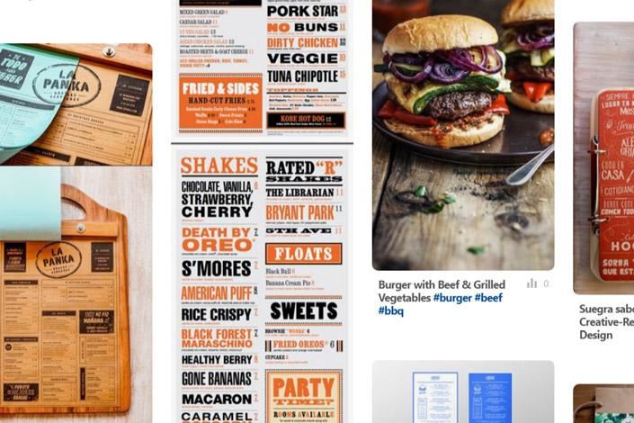 Machen Sie Speisekarten haptisch erlebbar, statt sie in Folien einzusperren und lassen Sie sich für Ihre Papeterie von unserer Reihe 12 x Print inspirieren.
