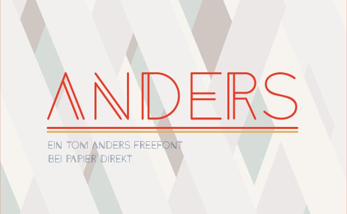 Was den Freefont Anders nicht nur anders, sondern auch besonders macht, zeigen wir Ihnen am #FreeFontFreitag im Papier Direkt Blog.