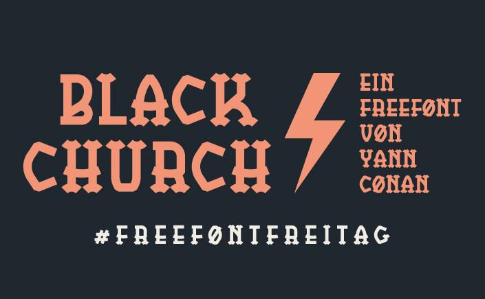 BlackChurch ist eine Slabserif, die den Sehnerv in Schwingung versetzt. Am #FreeFontFreitag im September stellen wir Ihnen die Schrift im Detail vor.