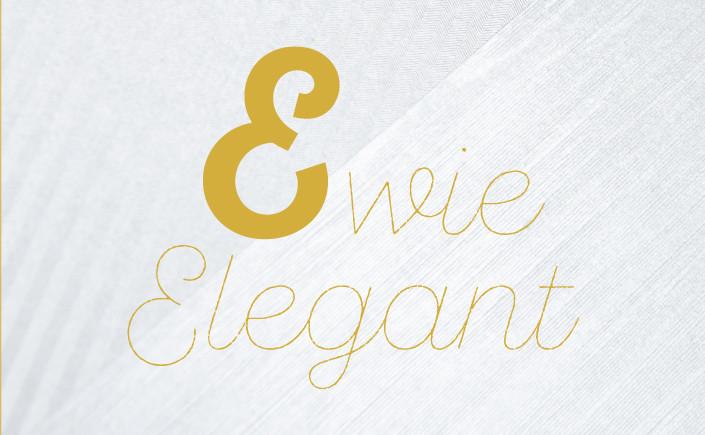 Hey Sie, wollen Sie ein E kaufen? Anders als Schlemihl aus der Sesamstraße können wir Ihnen im Typodetail offen zeigen, wie elegant der Buchstabe E ist.