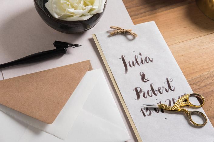 Wie schön, dass die Ästhetik von Hochzeiten so wandelbar ist. Heute zeigen wir Ihnen die Vintage Hochzeitspapeterie, einen der 7 Hochzeitstrends für 2019.