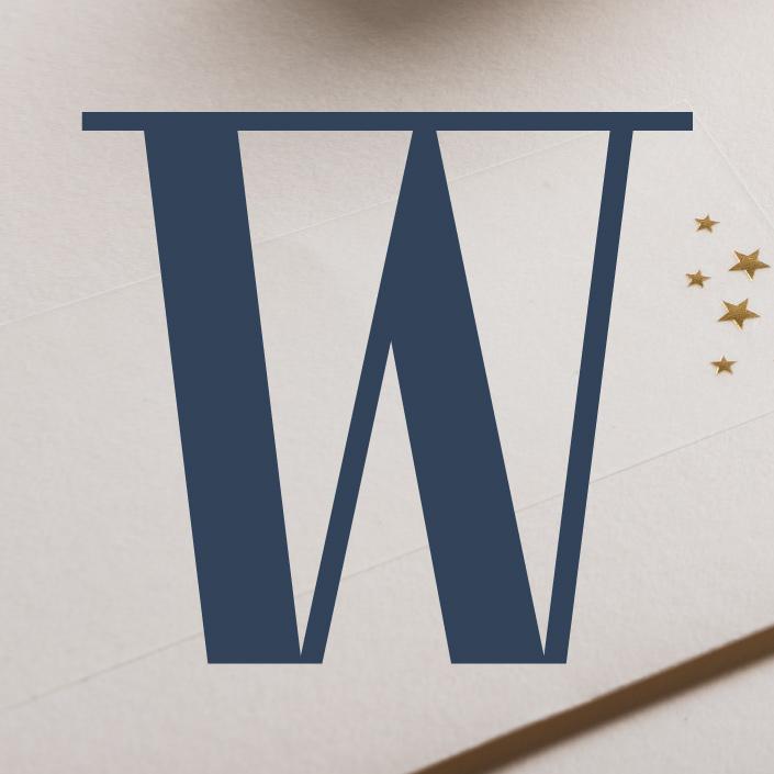 Was wäre Weihnachten ohne das W? Weil der Buchstabe außerdem eine ganz besondere Form hat, schauen wir das Typodetail W hier ganz besonders genau an.