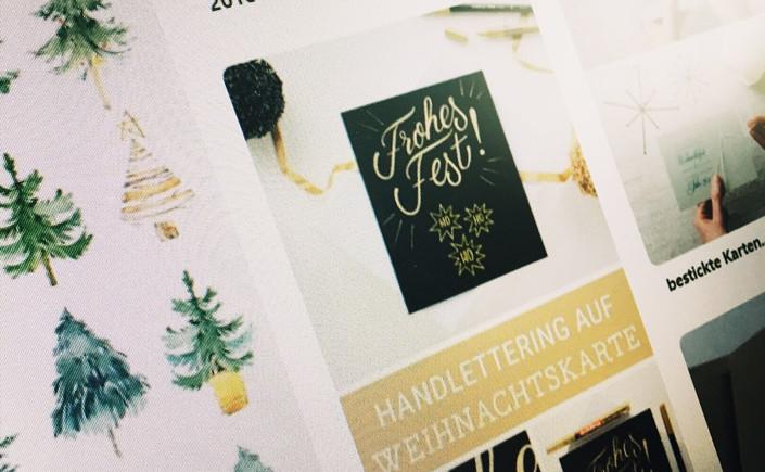 12 x Print zeigt Ihnen heute tolle Weihnachtskarten. Ob Kraftpapier, bunte DIY-Karten oder Karten auf Weiß und Elfenbein, lassen Sie sich inspirieren.