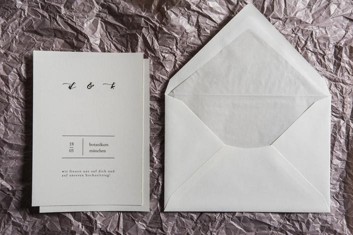 Weniger ist mehr? Wie für die Minimale Hochzeitspapeterie ein Höchstmaß an Persönlichkeit und Eleganz entsteht, zeigen wir Ihnen hier im Papier Direkt Blog.