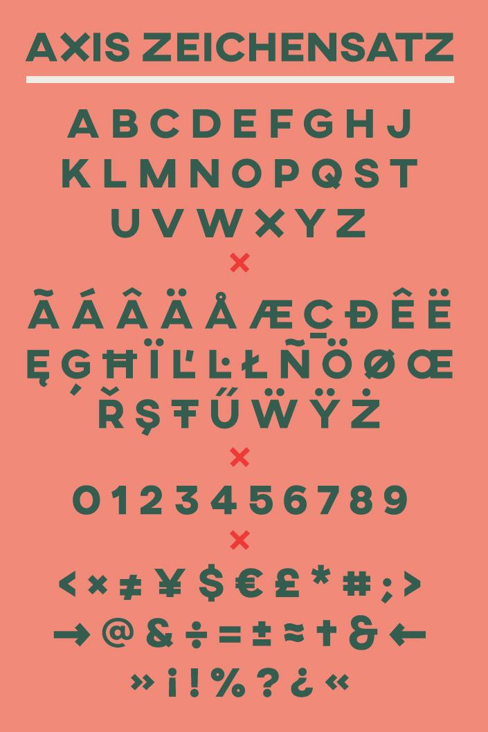 Am #FreeFontFreitag im Dezember stellen wir Ihnen die Schrift Axis vor. Was die geometrische Sans-Serif auszeichnet, lesen Sie hier im Papier Direkt Blog.