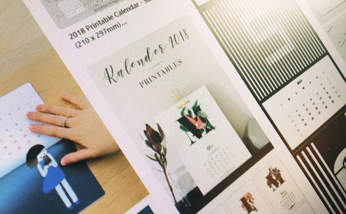 Pünktlich zum Jahresende zeigen wir Ihnen in bei 12 x Print kreative Kalender und die Möglichkeit Ihren ganz individuellen Planer zu erstellen.
