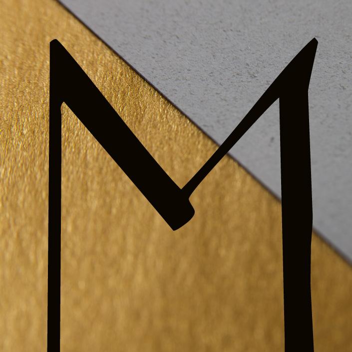 Wann haben Sie sich den Buchstaben M mal genauer angeschaut? Wir zeigen Ihnen heute das Typodetail M, das auch bei uns durchaus für Merry Christmas steht.