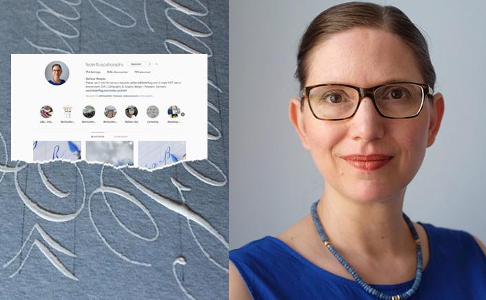 Stefanie Weigele von @federflugcalligraphy ist Spezialistin für die Spitzfederkalligrafie. Wir haben ihr am heutigen #recommondaytion drei Fragen gestellt.
