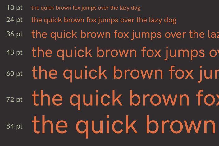 Logisch, streng und klar. Mit dem Freefont HK Grotesk greift Hanken die Ästhetik von Schriften wie Bodoni und Helvetica auf. Heute beim #FreeFontFreitag.