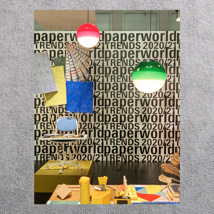 Hier ist alles Mögliche möglich. Wir zeigen Euch die Designwelt Blazing Hotchpotch der Paperworld 2020 heute im Papiermix. Jetzt im Papier Direkt Blog.