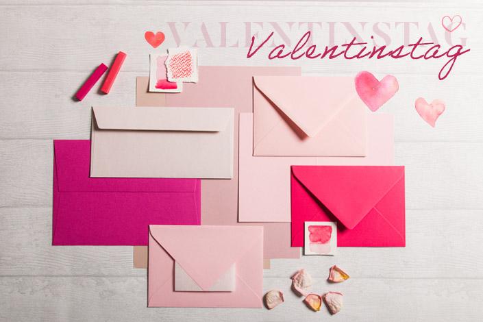 Valentinstag Karten und Briefumschläge