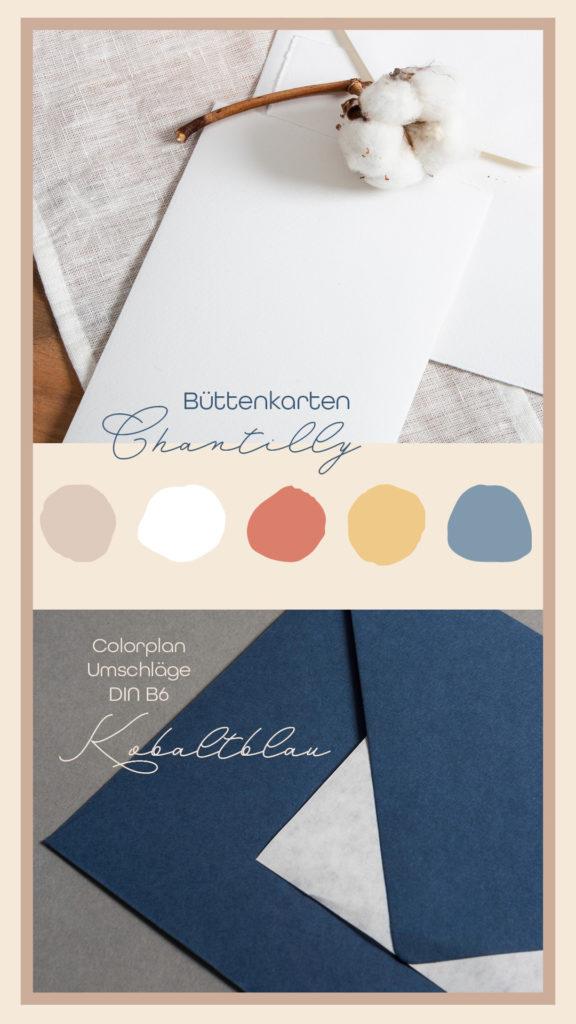 Inspirationen mit Papieren zu Classic Blue: Colorplan Cobalt mit Büttenkarten