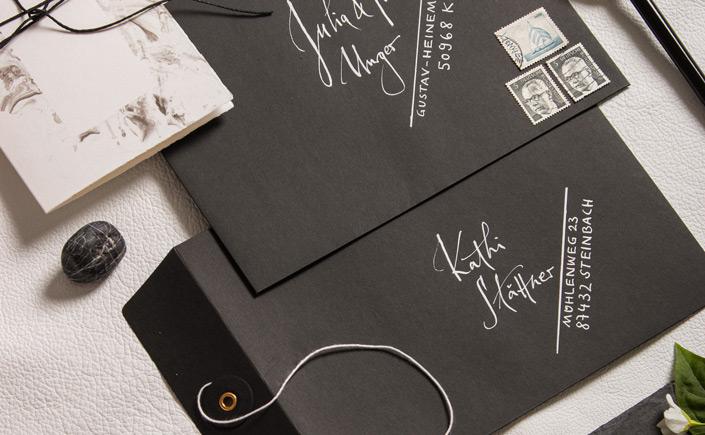 Briefumschläge mit Bindfadenverschluss und fünf Beispiele, wie Ihr sie vielseitig einsetzen könnt.
