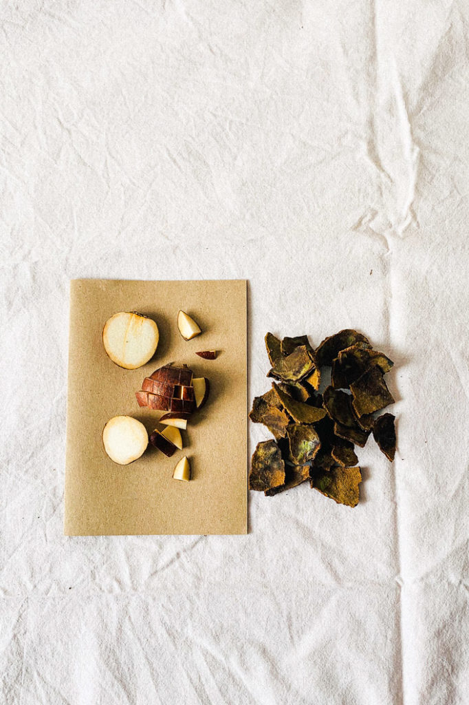 DIY Rezept: geschnitte Avocado für selbst gemachte Tinte - Step 3