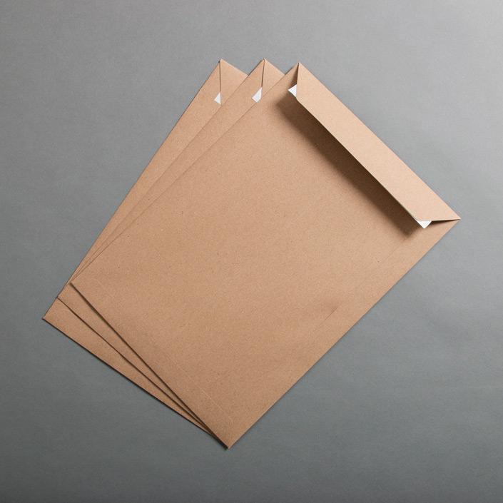 Produktbild der Muskat Kraft DIN C4 Versandtasche