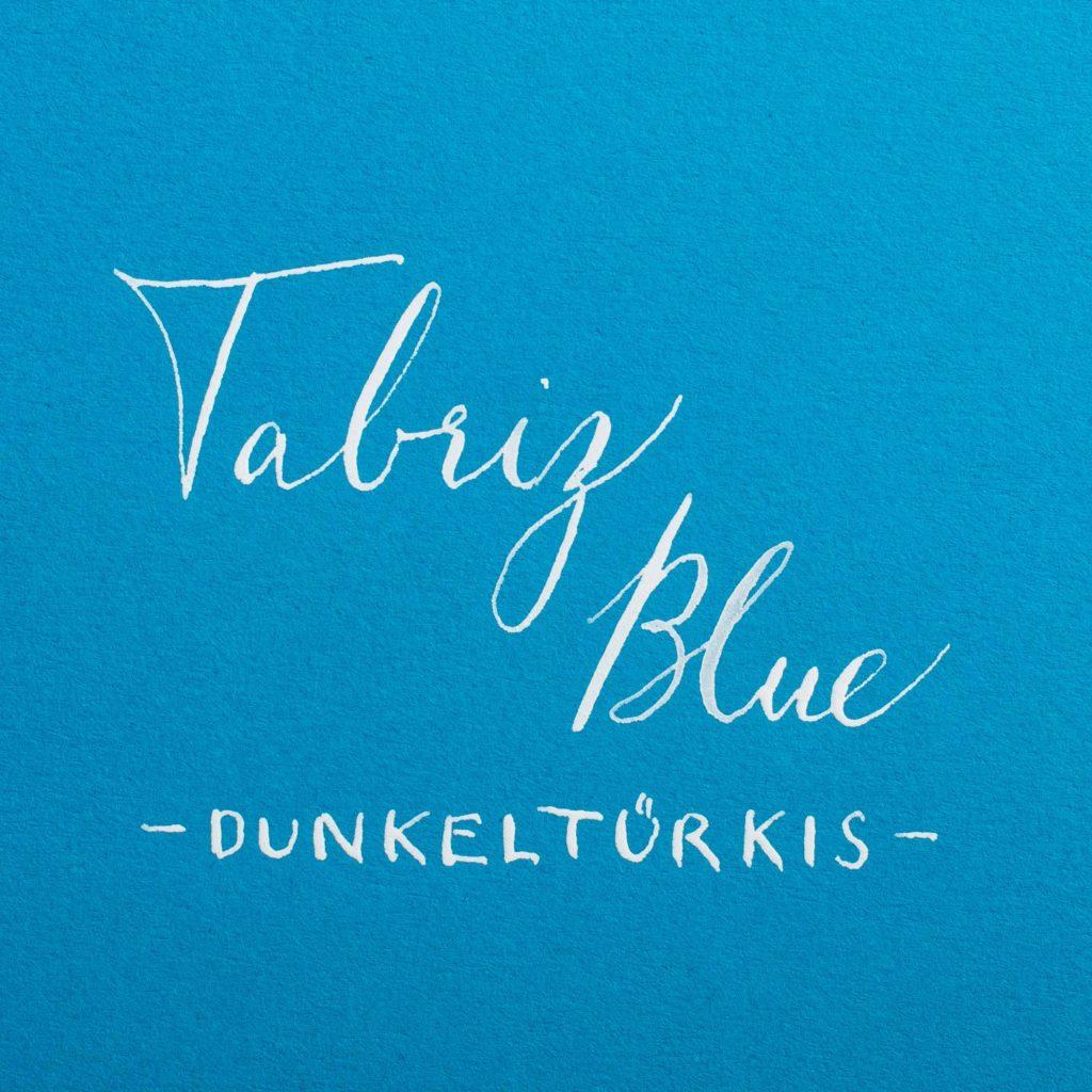 Colorplan Tabriz Blue - Dunkeltürkis - Farbkarte