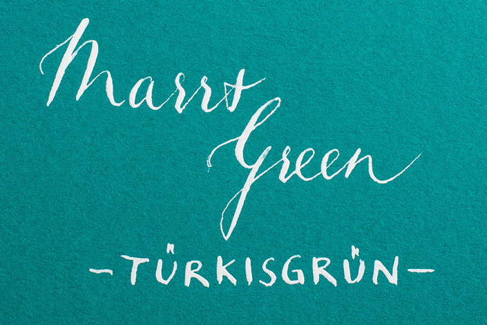 Colorplan Marrs Green / Türkisgrün - Farbkarte