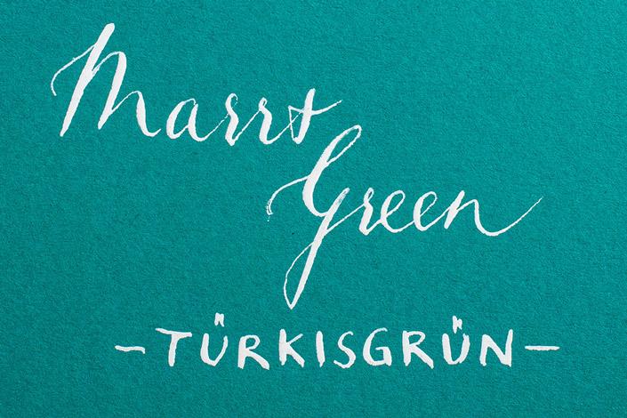 Colorplan Marrs Green / Türkisgrün - Farbkarte