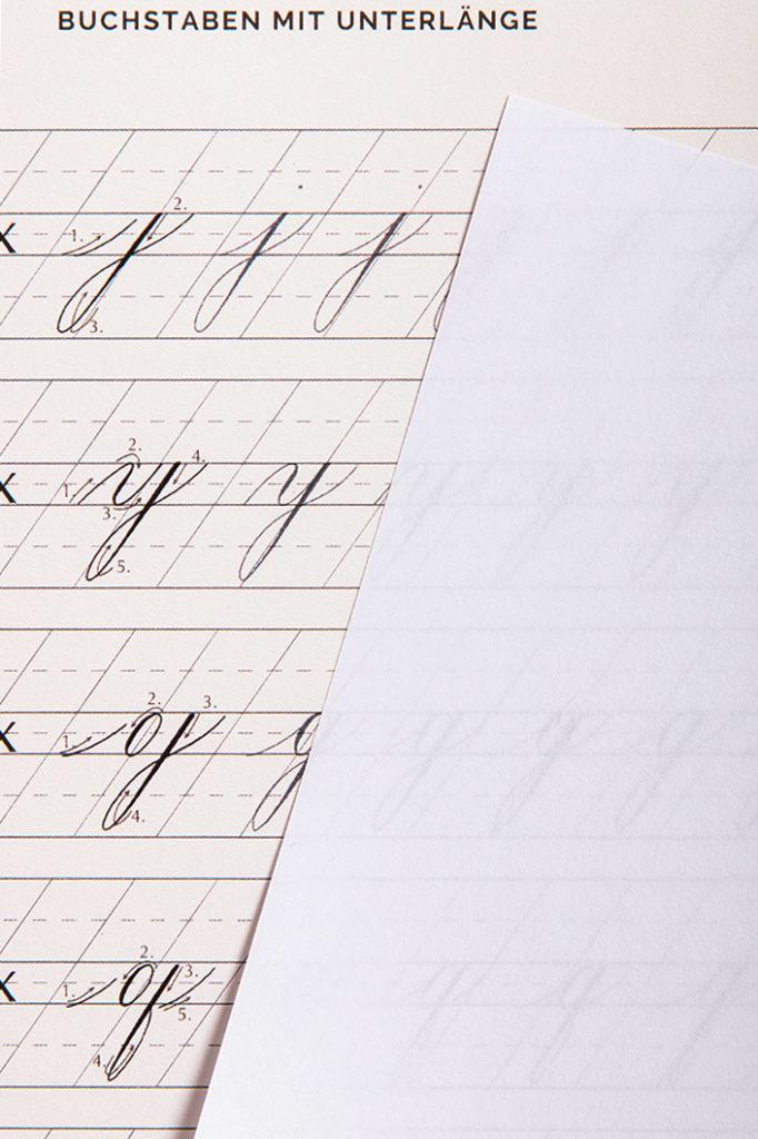 Clairfontaine Clairmail zum Arbeiten mit Kalligrafie Vorlagen