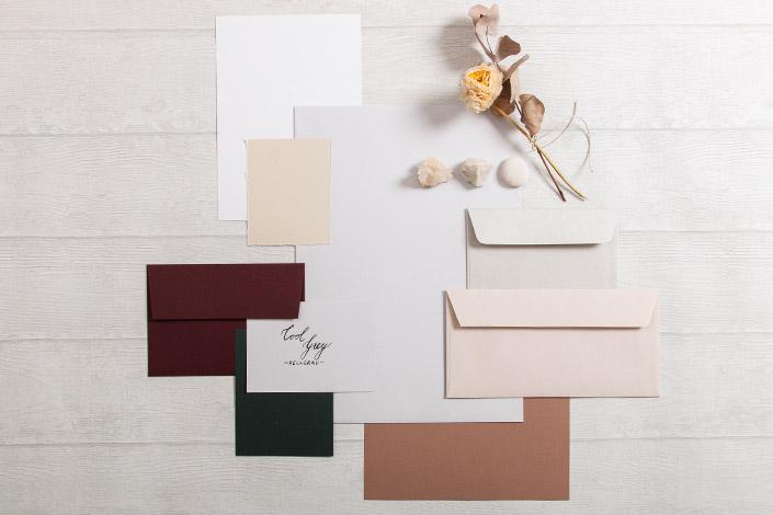 Colorplan Cool Grey Papier für Hochzeiten