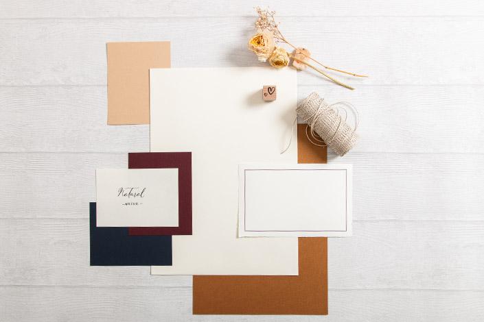 Colorplan Natural Papier für Hochzeiten