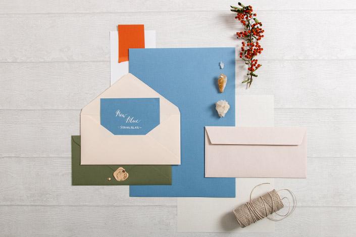 Colorplan New Blue Papier für Hochzeiten