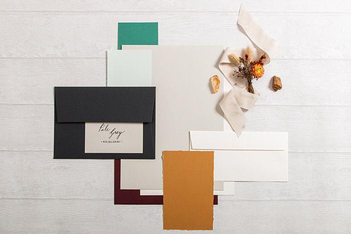 Colorplan Pale Grey Papier für Hochzeiten