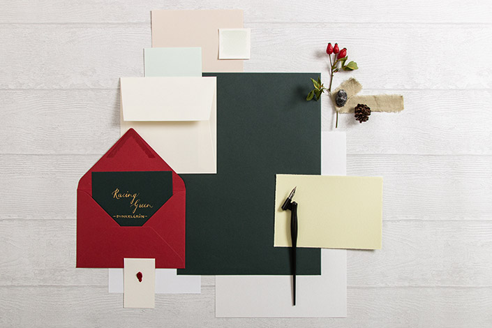 Colorplan Racing Green Papier für Hochzeiten